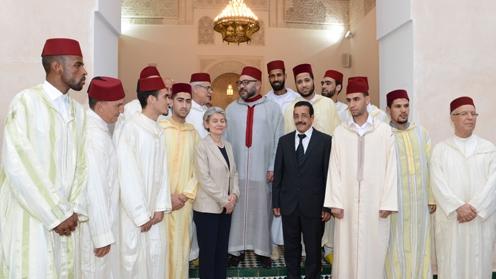 Maroc: Mohammed VI et Irina Bokova admirent la réhabilitation de 27 monuments historiques de Fès