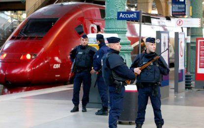 France : opération policière à la gare du Nord à Paris