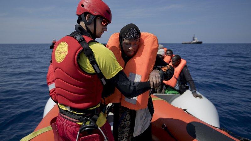 Environ 480 migrants sauvés au large de l'Italie