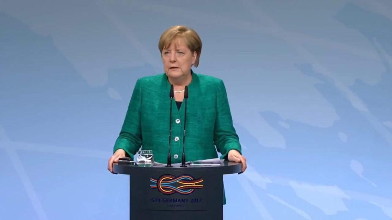 Merkel défend les forces de l'ordre suite aux violences lors du sommet du G20