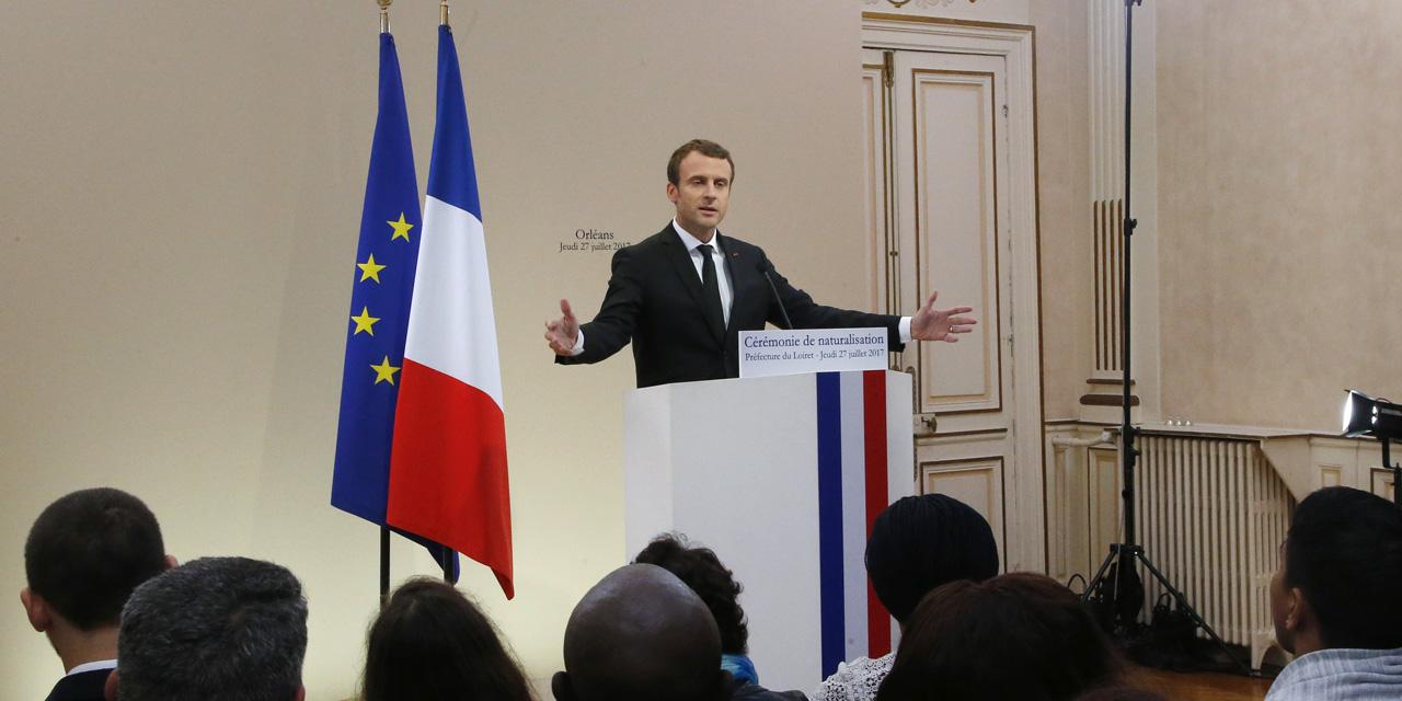 Emmanuel Macron annonce la création de hotspots en Libye