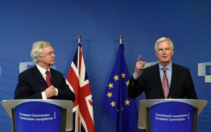 Deuxième round de négociations sur les conditions du Brexit