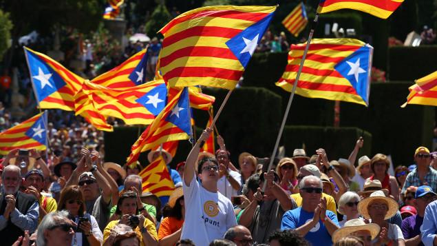 Espagne : Les séparatistes catalans promettent une indépendance immédiate en cas de victoire du «oui» au référendum