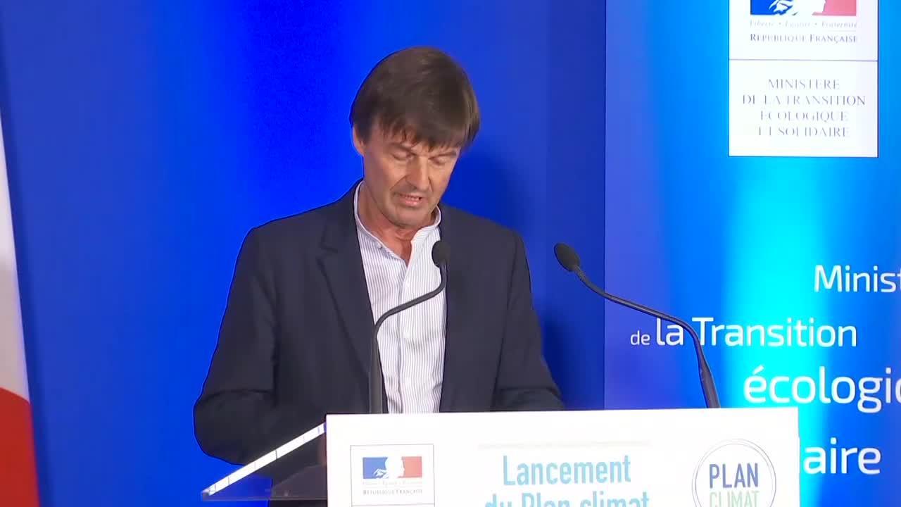 France : Présentation du programme quinquennal de la lutte contre le réchauffement climatique