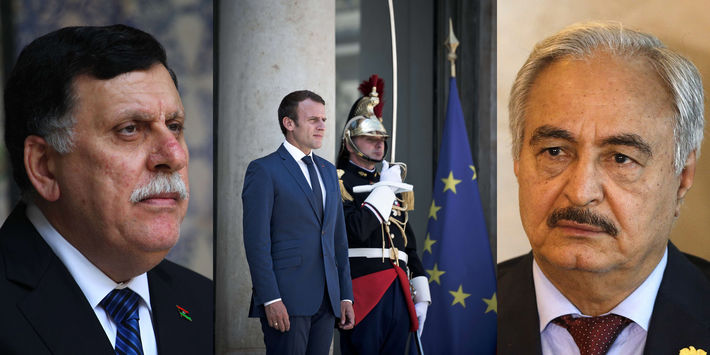 Réunion en France des principaux protagonistes de la crise libyenne