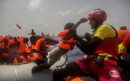 Treize clandestins retrouvés morts en mer Méditerranée