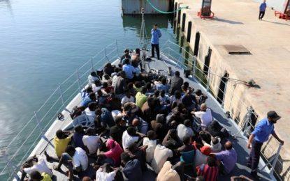 Sauvetage de 300 migrants au large de la Libye