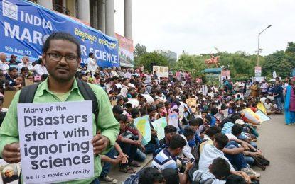 Les scientifiques indiens protestent contre les dérives religieuses soutenues par le gouvernement