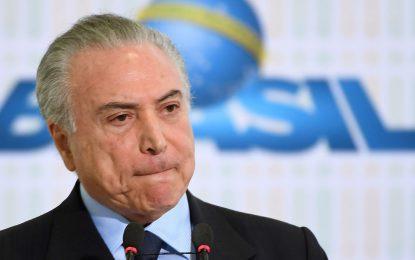 Le président brésilien Michel Temer comparait à nouveau devant la justice
