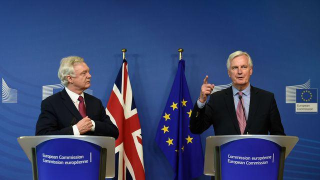 Quatrième session de négociations sur le Brexit à Bruxelles