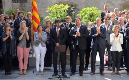 Madrid contre-attaque les partisans du référendum en Catalogne