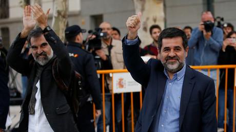 Espagne : Des dizaines de milliers de Catalans manifestent pour la libération de leurs leaders incarcérés
