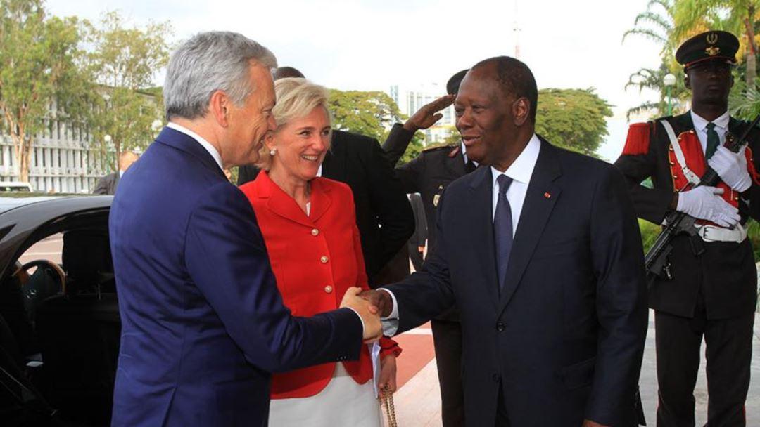 La Côte d'Ivoire et la Belgique signent divers accords économiques