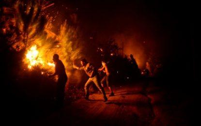 Le Portugal et l'Espagne ravagés par les flammes