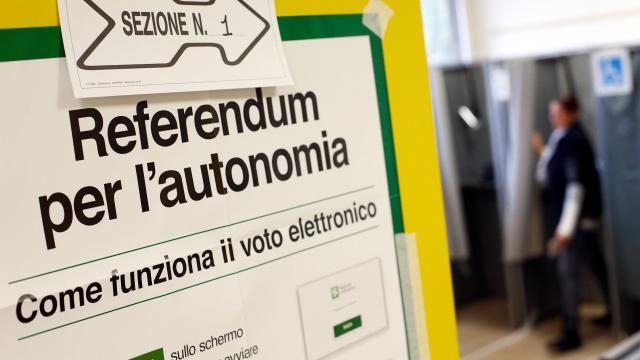 Italie : la Vénétie et la Lombardie disent «oui» à plus d'autonomie