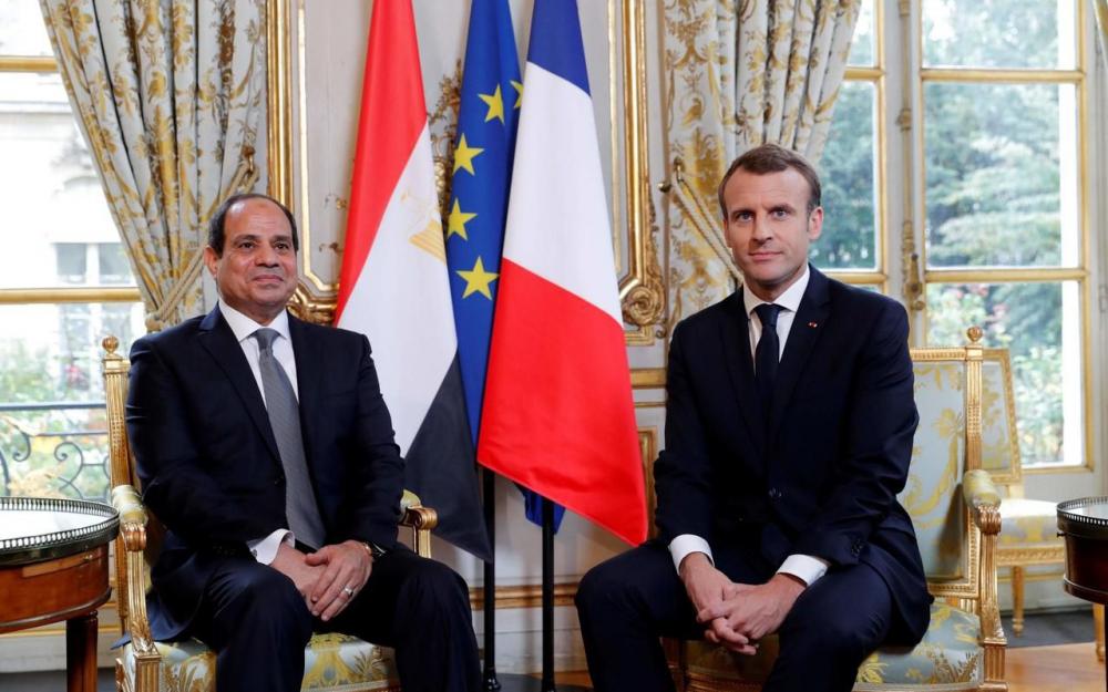 Macron n'a pas de leçons à donner à Sissi en matière de droits de l'homme