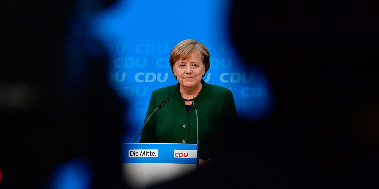 La chancelière allemande se dit prête à négocier avec les sociaux-démocrates