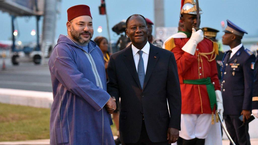 Présence remarquée de Mohammed VI à Abidjan où débute ce mercredi le Sommet UA-UE