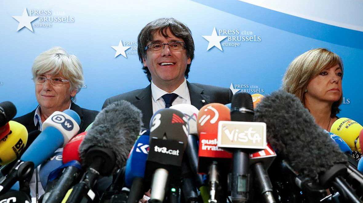 Carles Puidgemont embarrasse la Belgique