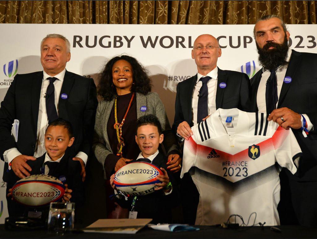 Les retombés économiques de l'organisation par la France de la Coupe mondiale de Rugby en 2023