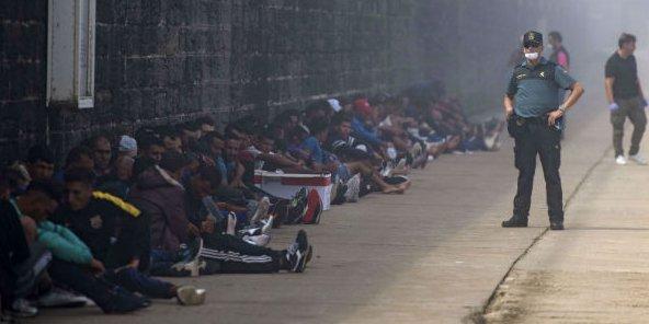 L'Espagne s'inquiète pour les arrivées massives de jeunes migrants algériens