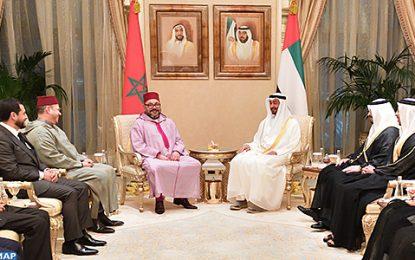 Le Roi Mohammed VI au Qatar après l'étape d'Abou Dhabi