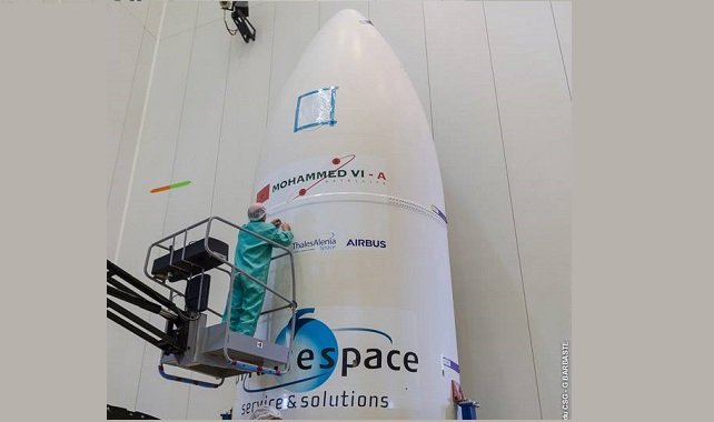 Maroc: Compte à rebours à Kourou pour le lancement du satellite d'observation