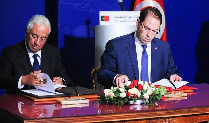 Accords de coopération entre le Portugal et la Tunisie