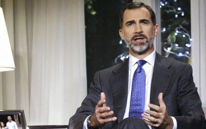 Appel du Roi d'Espagne à l'apaisement en Catalogne