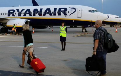 Le personnel de Ryanair observe une grève en Italie