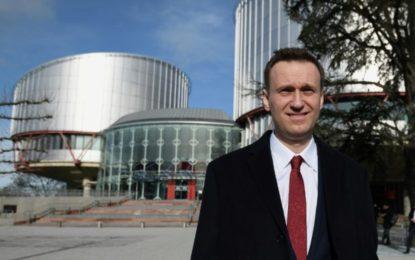 L'opposant russe Alexeï Navalny devant la Cour européenne des droits de l'Homme