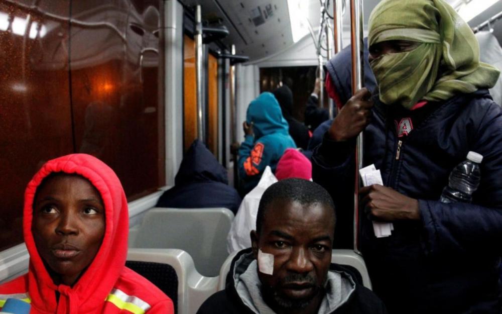 13 000 clandestins africains évacués de Libye