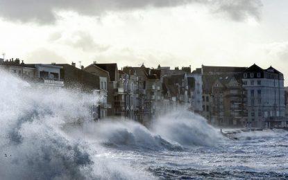 La France frappée par la tempête Eleanor