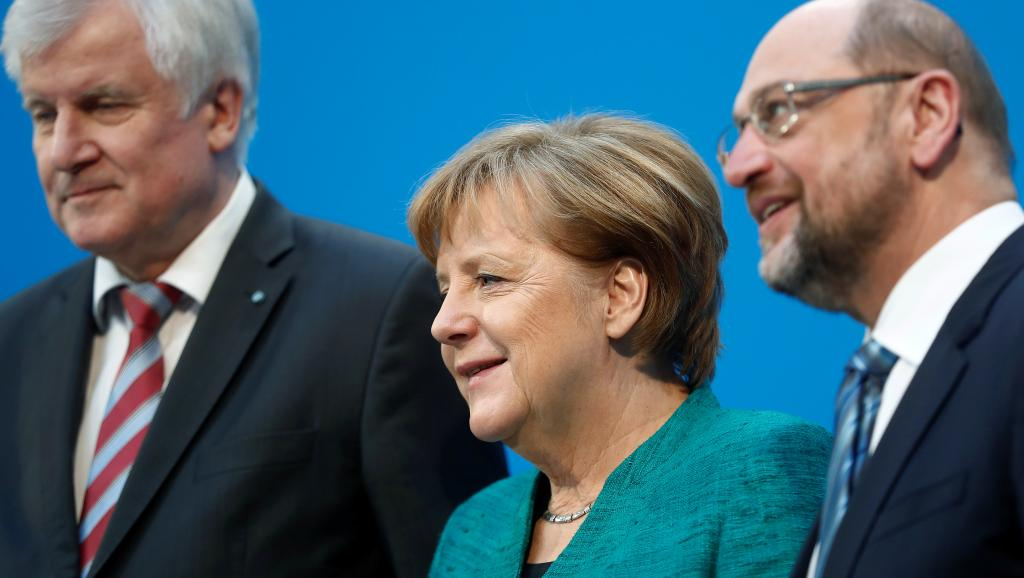 Un accord conclu dans la douleur en Allemagne pour la formation d'un gouvernement