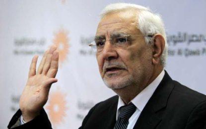 Egypte : Un leader de l'opposition jeté en prison