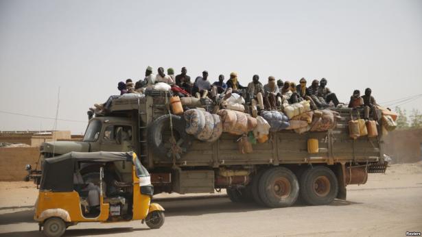 Décès d'une vingtaine de migrants dans un accident de camion en Libye