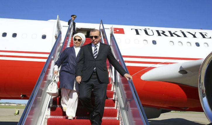 Le président turc en visite officielle à Alger