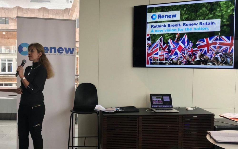 Renew, le nouveau parti pour stopper le Brexit du Royaume-Uni de l'UE
