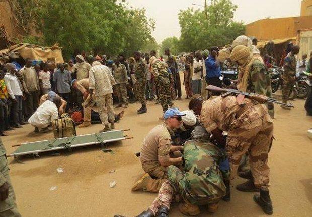 Quatre Casques bleus tués par une mine au centre du Mali