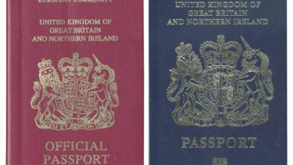 Royaume-Uni : les futurs passeports post-Brexit fabriqués par une entreprise française