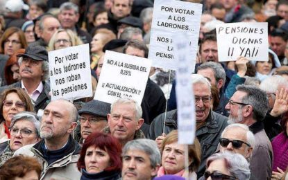 Les séniors en Espagne manifestent pour une revalorisation de leurs retraites