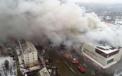 Russie : Au moins 37 morts dans un incendie dans une ville de la Sibérie occidentale