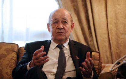 La question libyenne au centre des entretiens du chef de la diplomatie française en Egypte