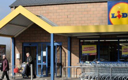 Plusieurs magasins Lidl en grève en Belgique