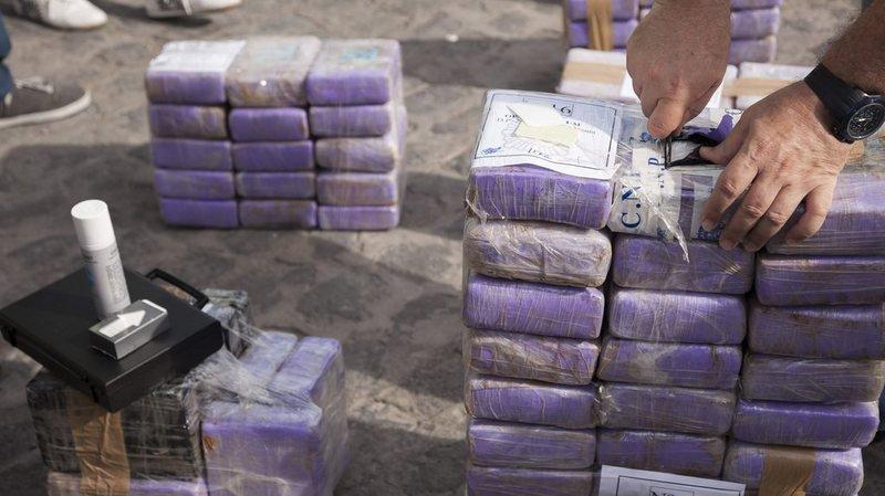 Espagne : saisie de près de 9 tonnes de cocaïne