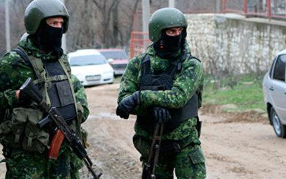 Les forces spéciales russes neutralisent 9 activistes qui préparaient un attentat