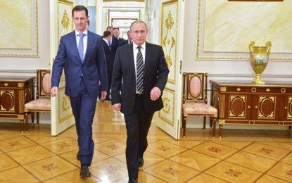 Visite surprise de Bachar al-Assad à Vladimir Poutine
