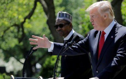 Le président nigérian Muhammadu Buhari conclut quelques accords aux Etats-Unis