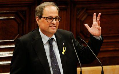 Espagne : Le séparatiste Quim Torra élu à la présidence de la Catalogne