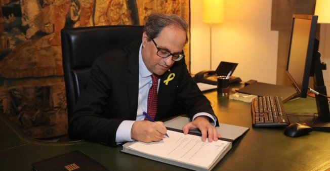 Espagne : aucun ministre emprisonné ou exilé dans le nouveau gouvernement catalan